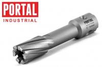 Корончатые сверла по металлу с напаянными твердосплавными пластинами Portal TCT L30
